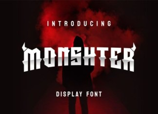 Monshter Font