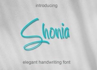 Shonia Font