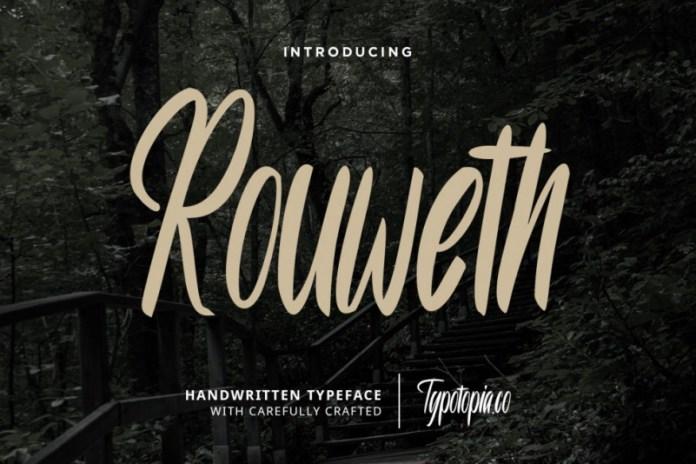 Rouweth Font