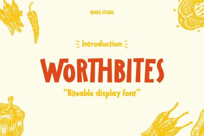 Worthbites Font