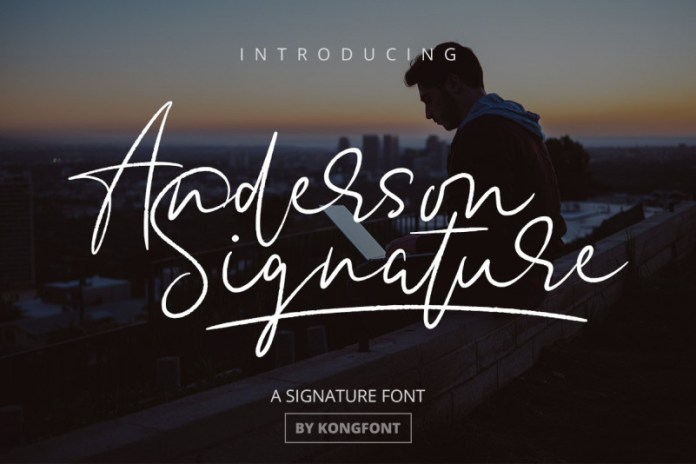 Anderson Font