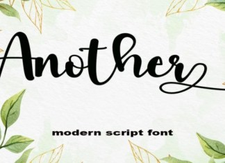 Another Font