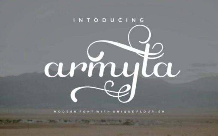 Armyta Font