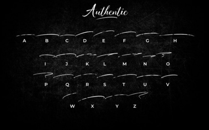 Authentic Font