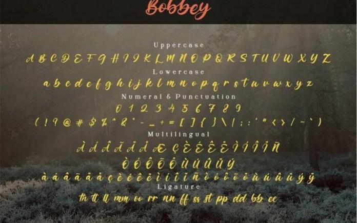 Bobbey Font