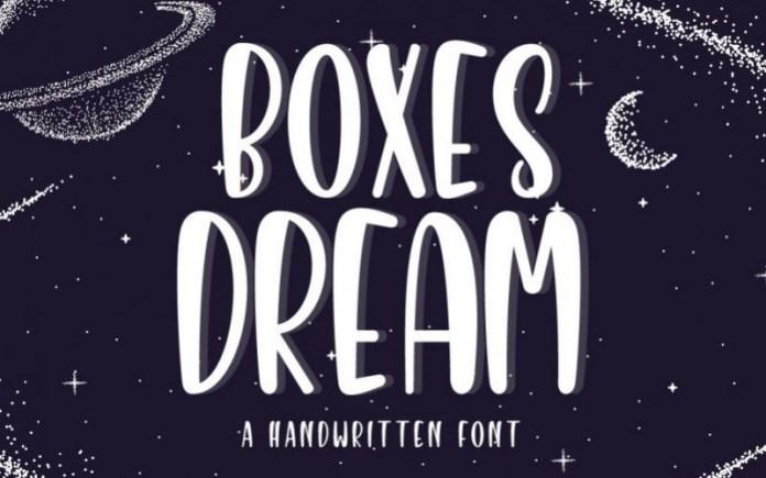 Boxes Dream Font