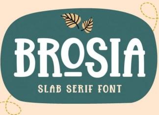 Brosia Font