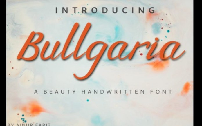 Bullgaria Font