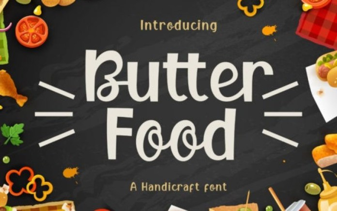Butter Food Font