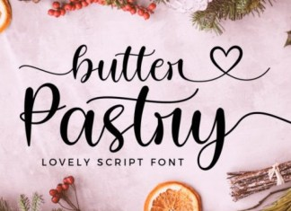 Butter Pastry Font