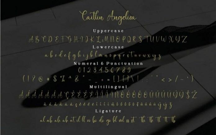 Caitlin Angelica Font