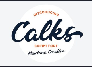 Calks Font