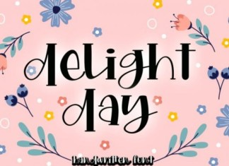 Delight Day Font