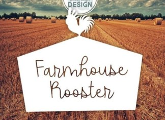 Farmhouse Rooster Font