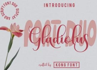 Gladiolus Font
