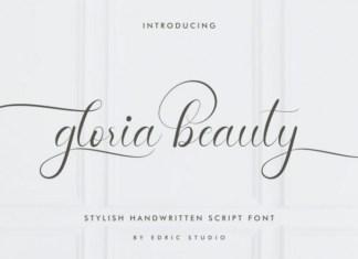 Gloria Beauty Font