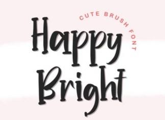 Happy Bright Font