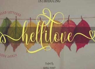Hellilove Font