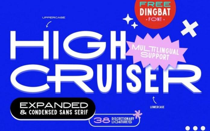 High Cruiser Font