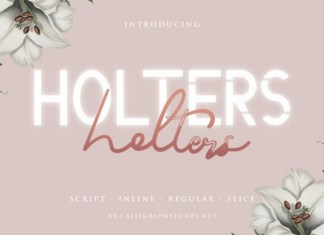 Holters Font
