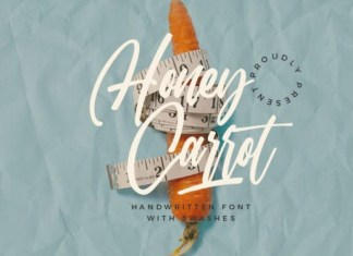 Honey Carrot Font