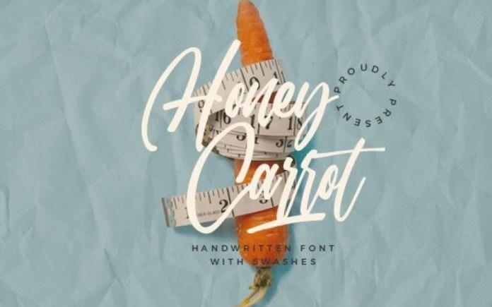 Honey Carrot Font