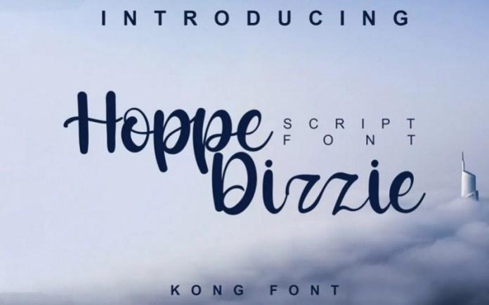 Hoppe Dizzie Font