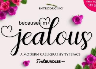 Jealous Font