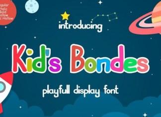 Kids Bondes Font
