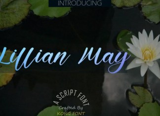 Lillian May Font