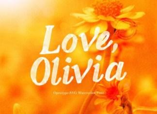 Love Olivia Font