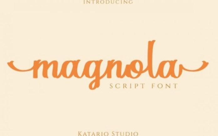 Magnola Font