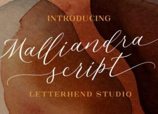 Malliandra Font