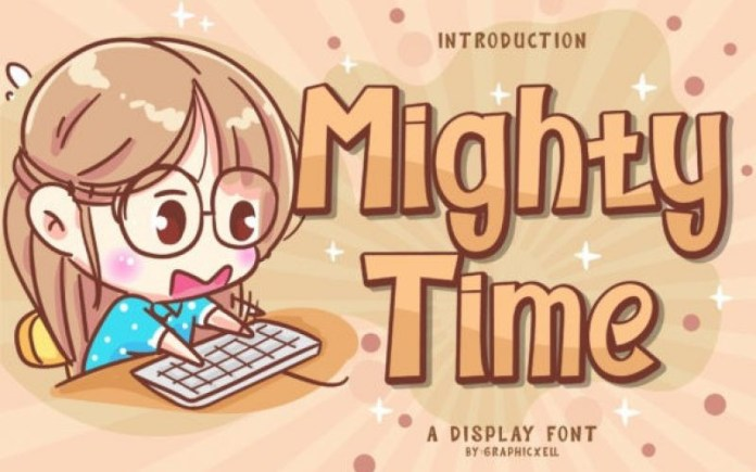 Mighty Time Font