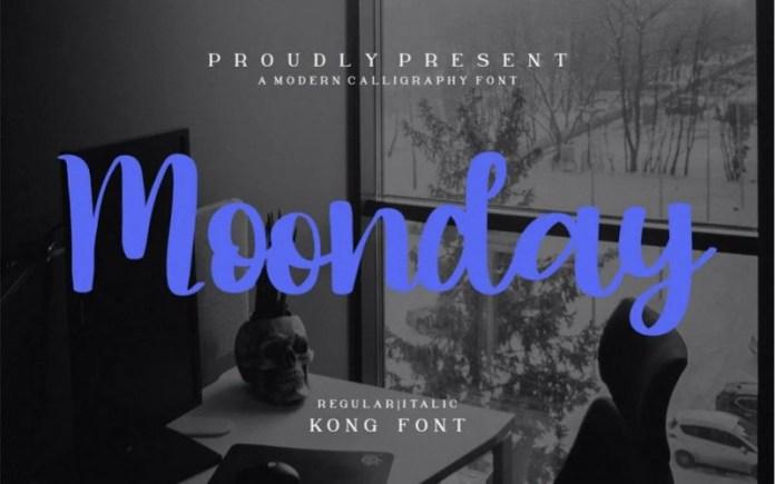 Moonday Font