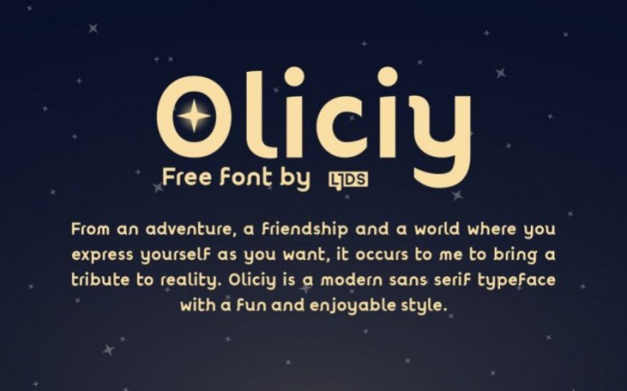 Oliciy Font