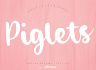 Piglets Font