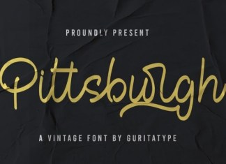 Pittsbutgh Font