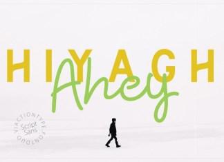 Hiyagh Ahey Font