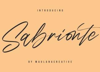 Sabrionte Font
