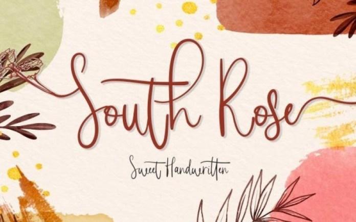 South Rose Font