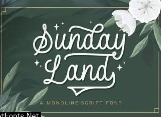 Sunday Land Font