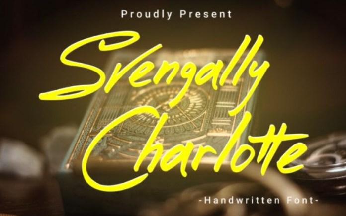 Svengally Charlotte Font