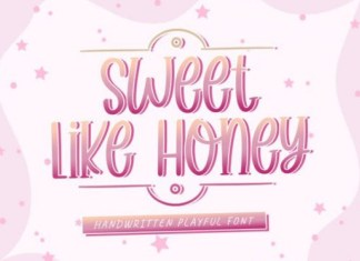 Sweet Like Honey Font