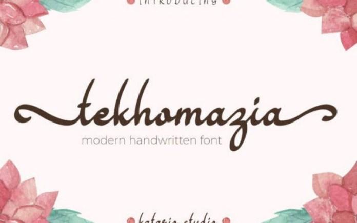 Tekhomazia Font