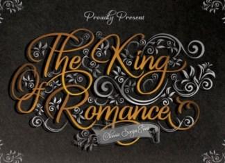 The King Of Romanc Font