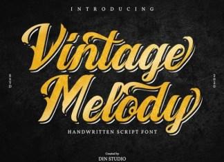 Vintage Melody Font