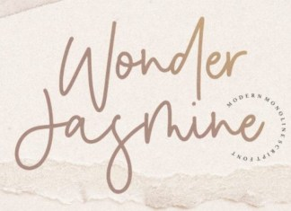 Wonder Jasmine Font