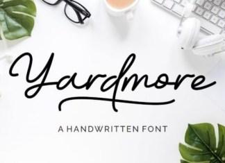 Yardmore Font