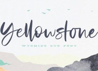 Yellowstone Font